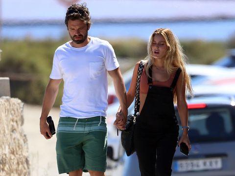 Sebastian Stan & Alejandra Onieva Spotted Holding Hands in Ibiza