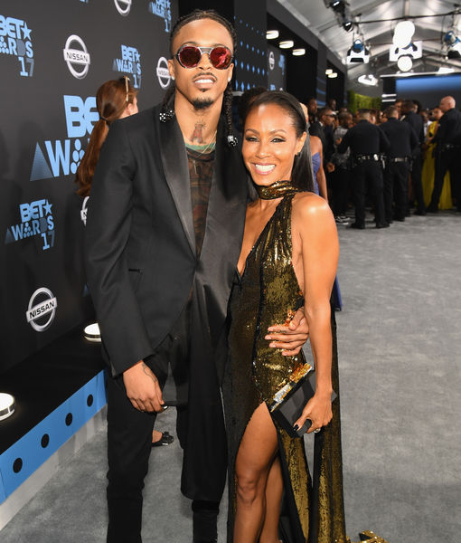 Jada Pinkett Smith Confirms Past Relationship with August Alsina While on a…