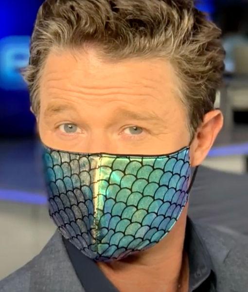 LOL! Jenn Lahmers Critiques Billy Bush's Mask Style