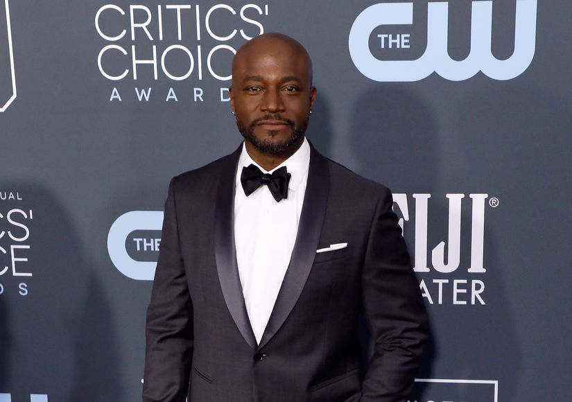 Taye Diggs Reacts to Nick Cordero's Passing, Plus: His Life Under Quarantine