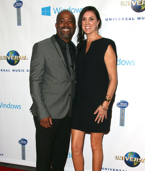Darius Rucker & Wife of 20 Years Announce 'Conscious Uncoupling'