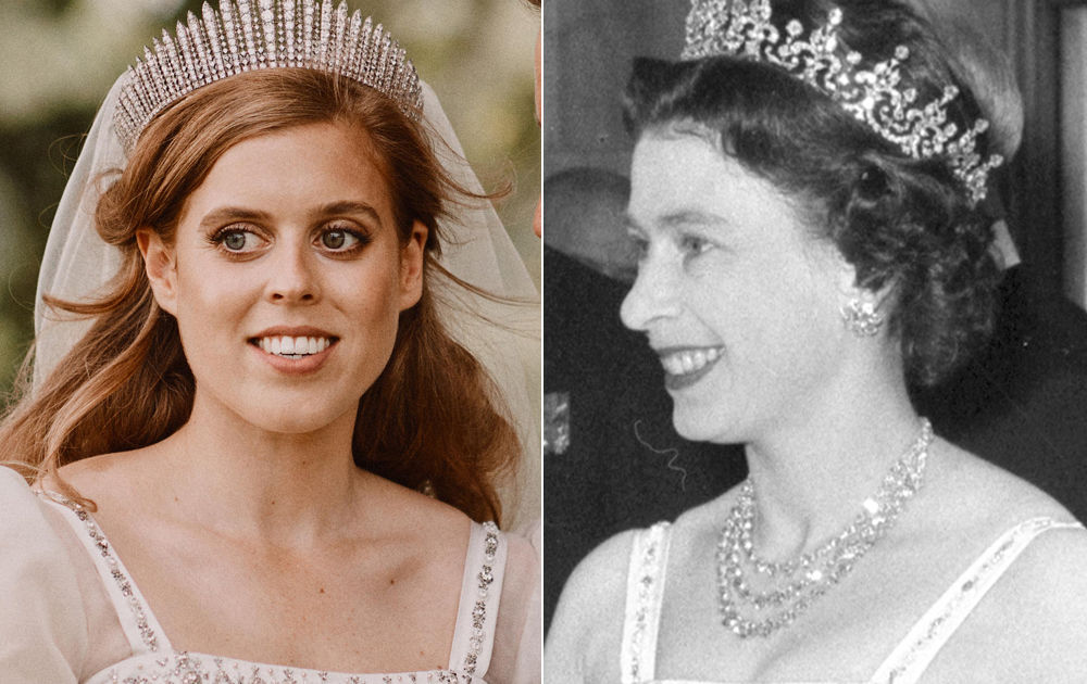 Princess Beatrice Wed In The Queen S Vintage Gown See How They