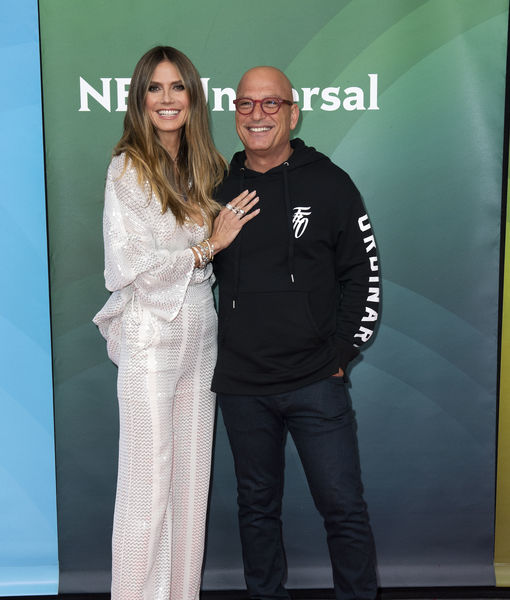 Heidi Klum & Howie Mandel Talk New Changes to Filming 'AGT' During Pandemic