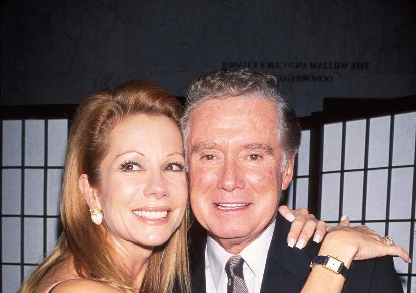 Emotional Kathie Lee Gifford Remembers Her Last Visit with Regis Philbin