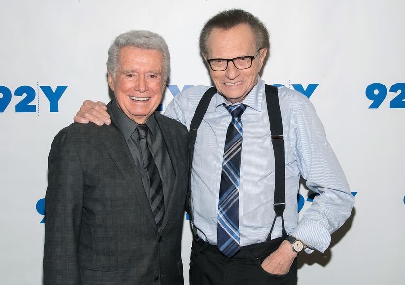 Larry King Remembers Regis Philbin, Reveals They Were Pitched Their Own 'Odd Couple' Show