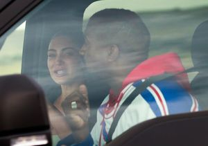 New Pic and Details from Kim & Kanye's Emotional Meetup in Wyoming