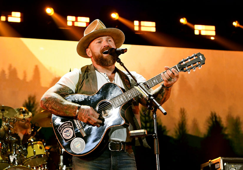 Billy Wishes His 'Musical Hero' Zac Brown a Happy Birthday