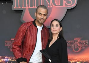 Tony Parker & Wife Axelle Francine Split