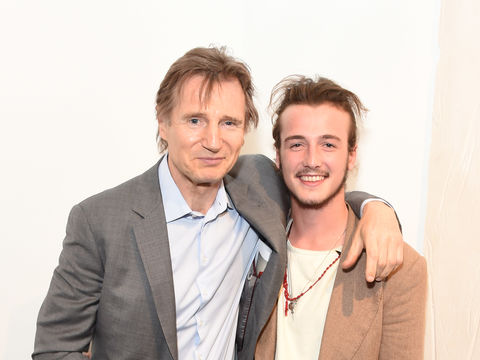 Liam Neeson & Son Micheál on Playing a Family Dealing with Grief After Their Own Tragic Loss