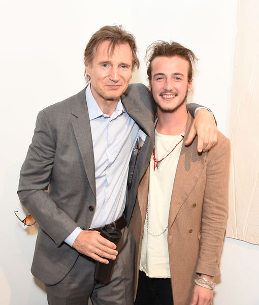 Liam Neeson & Son Micheál on Playing a Family Dealing with Grief After…