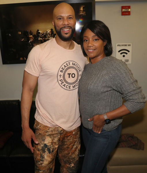 What Tiffany Haddish Just Told Us About Common, Plus: Her New Christmas Movie…
