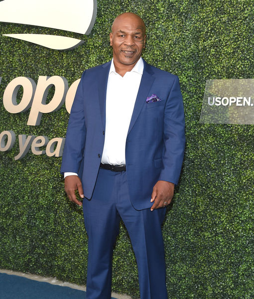 Mike Tyson on Shark Week, 'Frontline Battle' Fight, Biopic Starring Jamie…