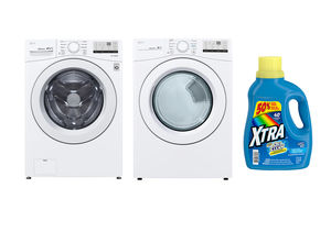 Win It! A Washer, Dryer, and a Year's Supply of XTRA Laundry Detergent