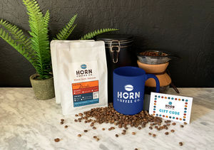 Win It! A $100 Horn Coffee Co. Gift Card and Prize Pack