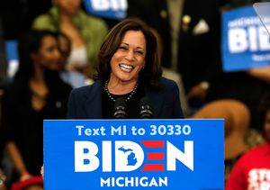 Celebrities React to Kamala Harris Being Named Joe Biden's Running…