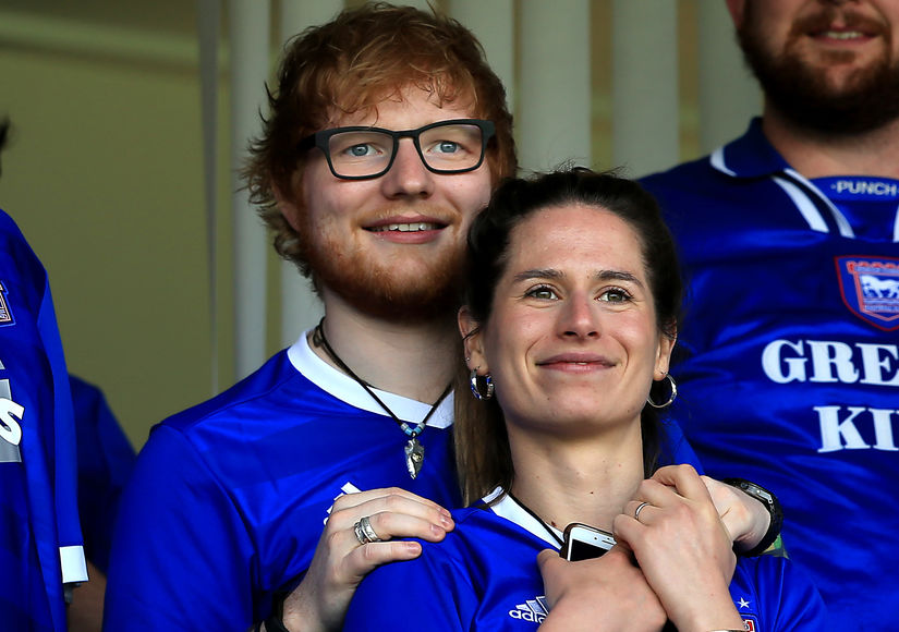 Ed Sheeran & Cherry Seaborn Welcome First Child — Find Out Her Name!