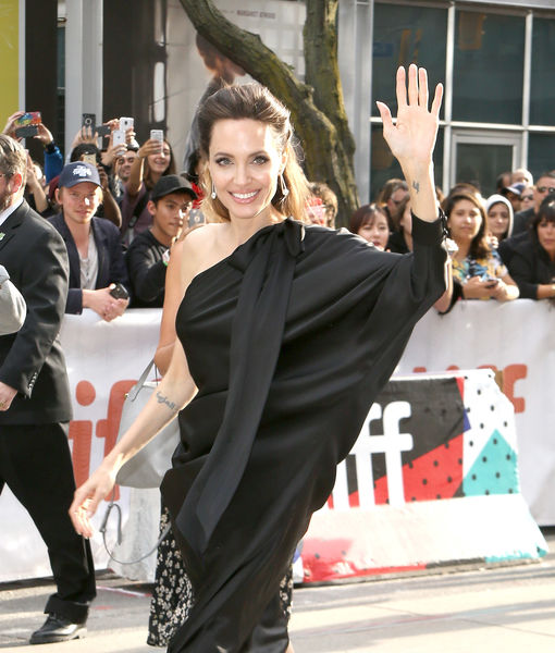 Angelina Jolie on Life in Quarantine with Her Kids, Plus: Her New Movie 'The One and Only Ivan'