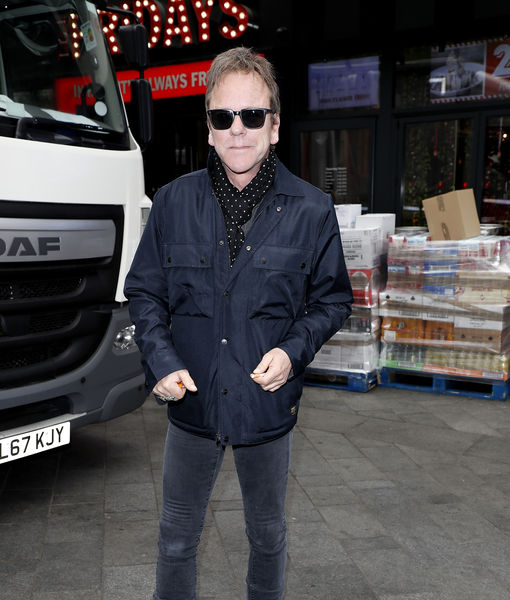 Kiefer Sutherland Says New 'Fugitive' Series Explores Pros and Cons of…