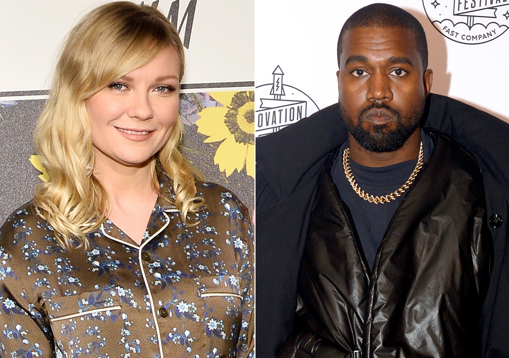 Kirsten Dunst Responds to Kanye West Using Her in Campaign Tweet