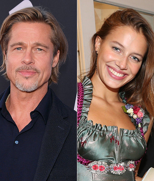 Brad Pitt & Nicole Poturalski Reportedly Split