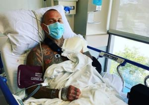 Carey Hart Undergoes Surgery, and Wife P!nk Sweetly Calls Him a 'Man Baby'