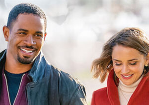 'Love, Guaranteed' Co-Stars Damon Wayans Jr. & Rachel Leigh Cook Talk…