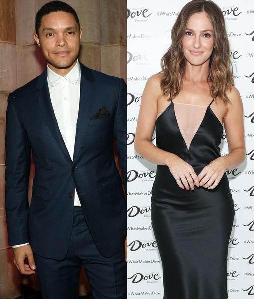 New Couple Alert? Trevor Noah & Minka Kelly Reportedly Dating