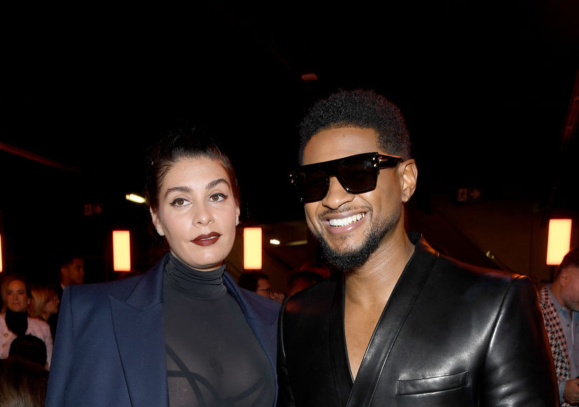 First Glimpse! Usher Welcomes Baby Girl with Jenn Goicoechea