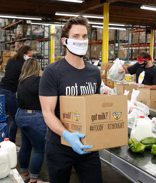 Matt Bomer on Life Under Quarantine, Plus: His Neighbor Oprah Winfrey