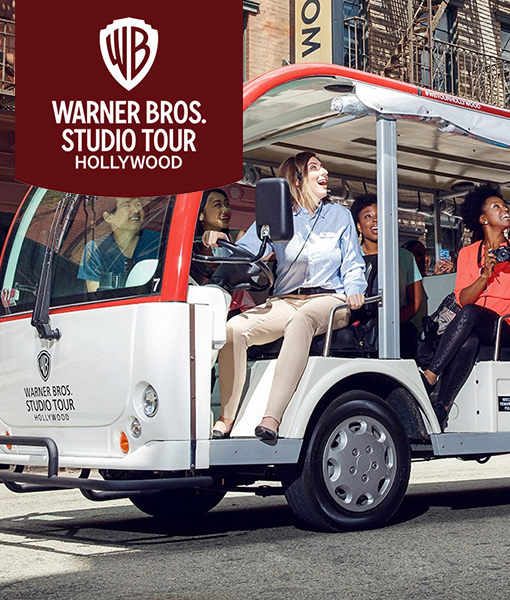 Stay Connected to the World-Famous Warner Bros. Studio Tour Hollywood