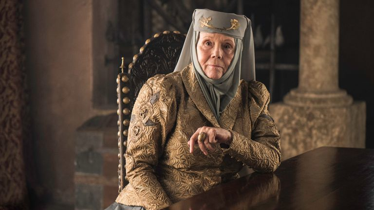 Diana RIgg Game -of-Thrones