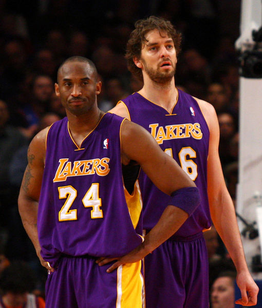 Pau Gasol & Wife Catherine McDonnell Name First Child After Kobe Bryant's Daughter Gianna