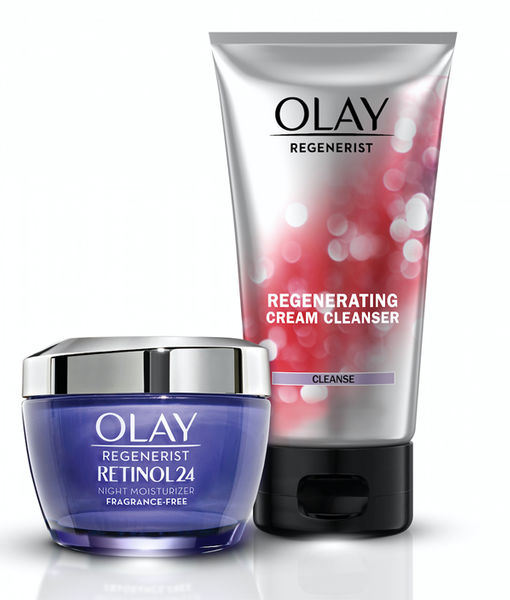 Wake Up to Brighter, Smoother Skin with Olay!