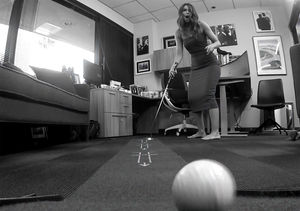 Billy Takes a Gamble on Some Office Putt-Putt