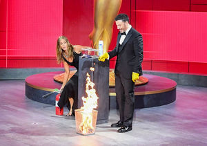 'Welcome to the Pand-Emmys!' Jimmy Kimmel & Jennifer Aniston…