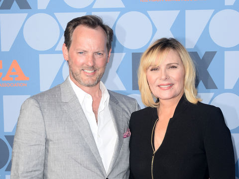 Kim Cattrall Says BF Russell Thomas 'Checks Every Box,' Plus: She Talks New Show 'Filthy Rich'