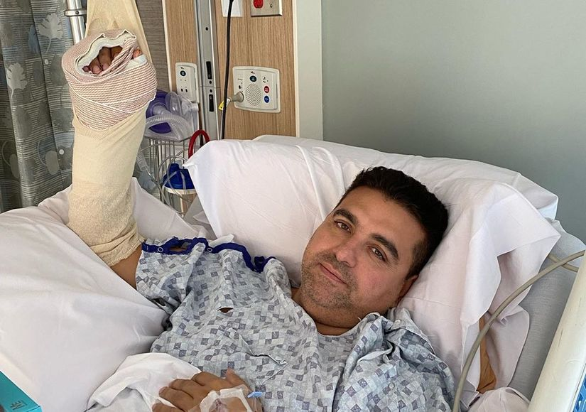'Cake Boss' Buddy Valastro's Hand Impaled in 'Terrible Accident'