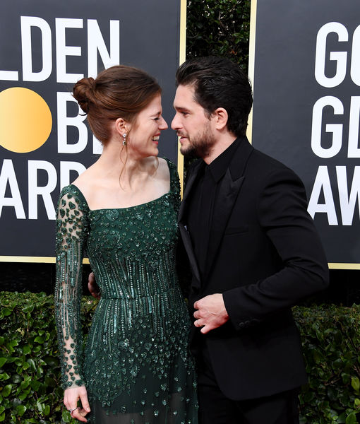 'GoT' Stars Rose Leslie & Kit Harington Are Expecting