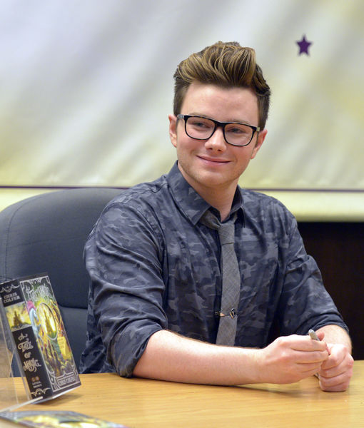 'Glee' Star Chris Colfer Talks New Book 'A Tale of Witchcraft'