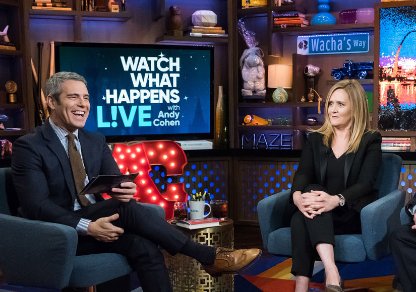 Samantha Bee Explains Why Andy Cohen Would Make a Great Debate Moderator