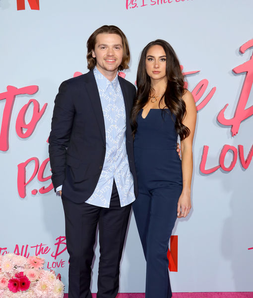 'The Kissing Booth' Star Joel Courtney Marries GF Mia Scholink