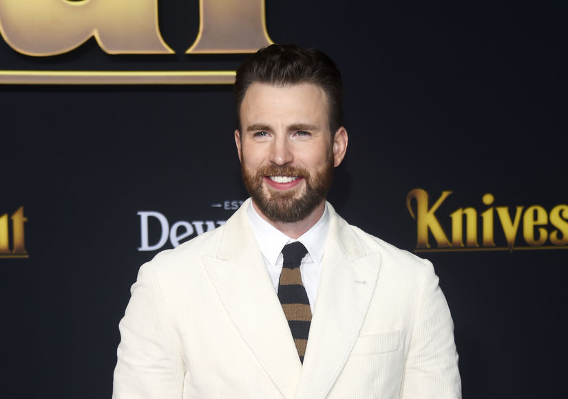 Chris Evans Sets the Internet on Fire, Revealing He's Covered in Tats