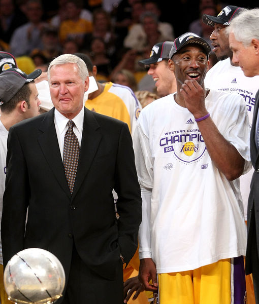 Jerry West Reacts to Lakers' 17th Championship Title, Plus: His Thoughts on Kobe Bryant's 'Mamba Mentality'