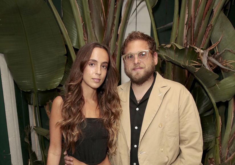 Jonah Hill & Gianna Santos Split