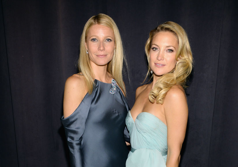 Gwyneth Paltrow & Kate Hudson Talk Worst Movie Kisses, from 'Snot' to…