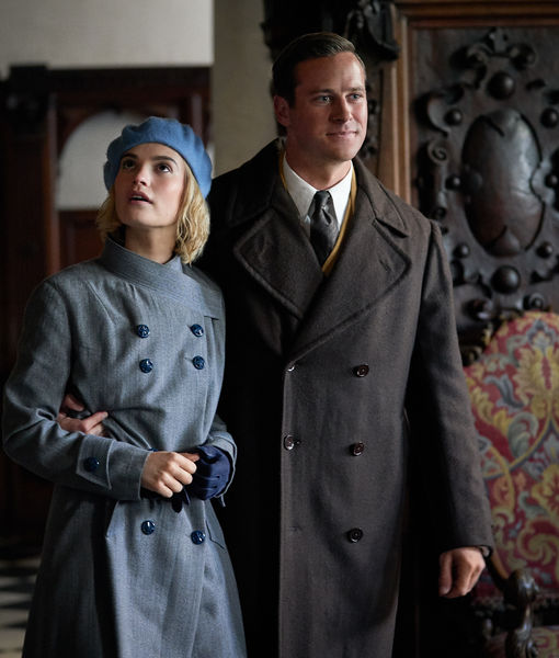 Lily James & Armie Hammer Dish on 'Rebecca' Characters