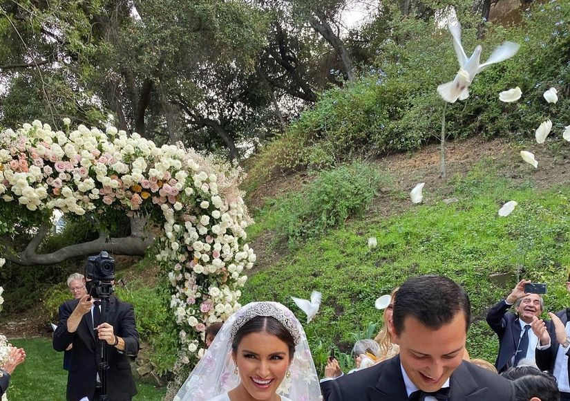 Wedding Pic! Reality Star Roxy Sowlaty Marries Nicolas Bijan