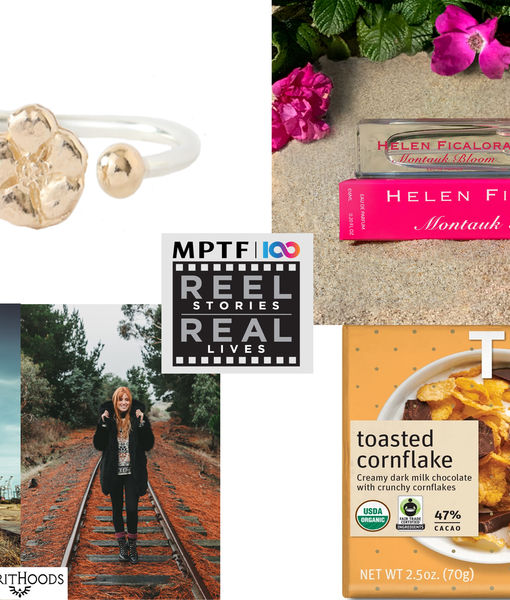 Win It! A Reel Stories, Real Lives Gift Bag
