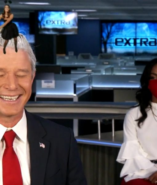 The 'Extra' Team Gives Halloween a Political Twist — See Their Costumes!