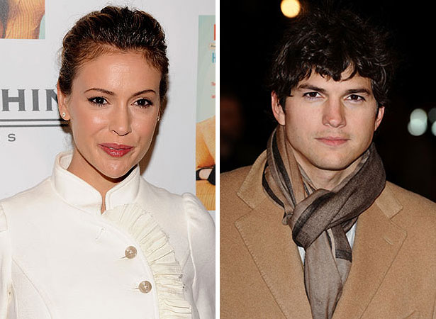 ashton kutcher and alyssa milano